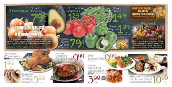 Page 2-3 of Circular Ad - Your Local Market Grocery Store
