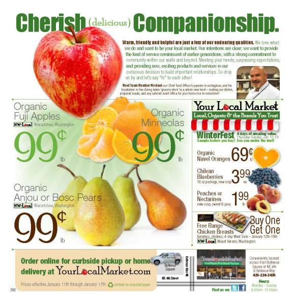Page 1 of Circular Ad - Your Local Market Grocery Store